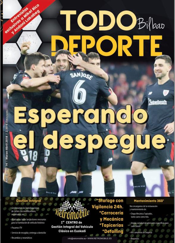 Revista Todo Deporte Bilbao nº 14 - Abril 2018