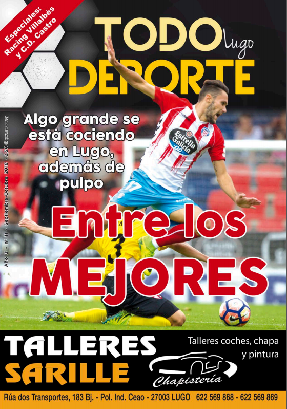 Revista Todo Deporte Lugo nº 11 - Lugo Mallorca