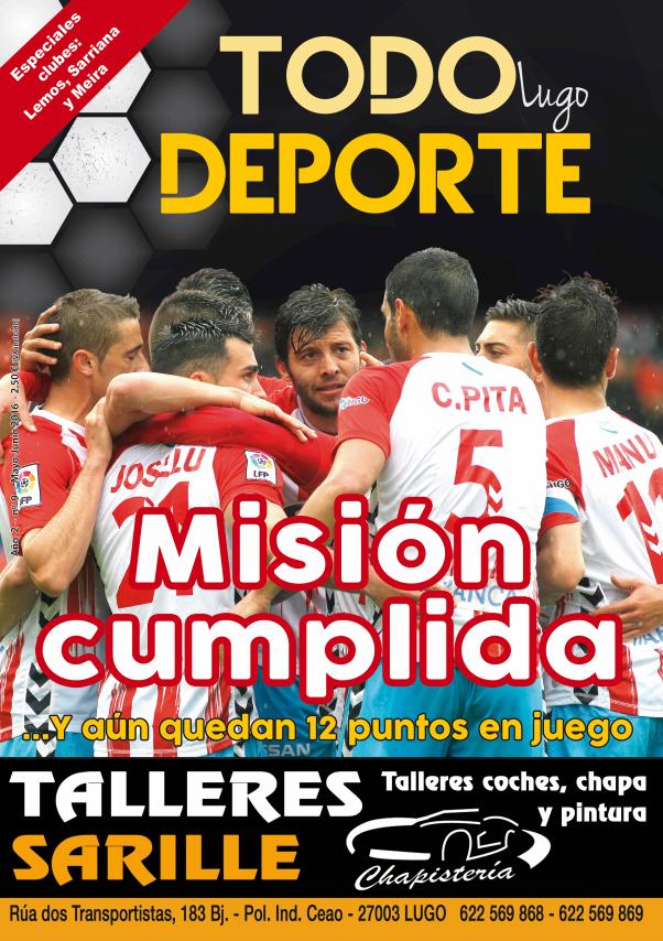 Revista Todo Deporte Lugo  Especial clubes