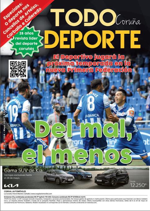 Revista Todo Deporte Coruña nº 524