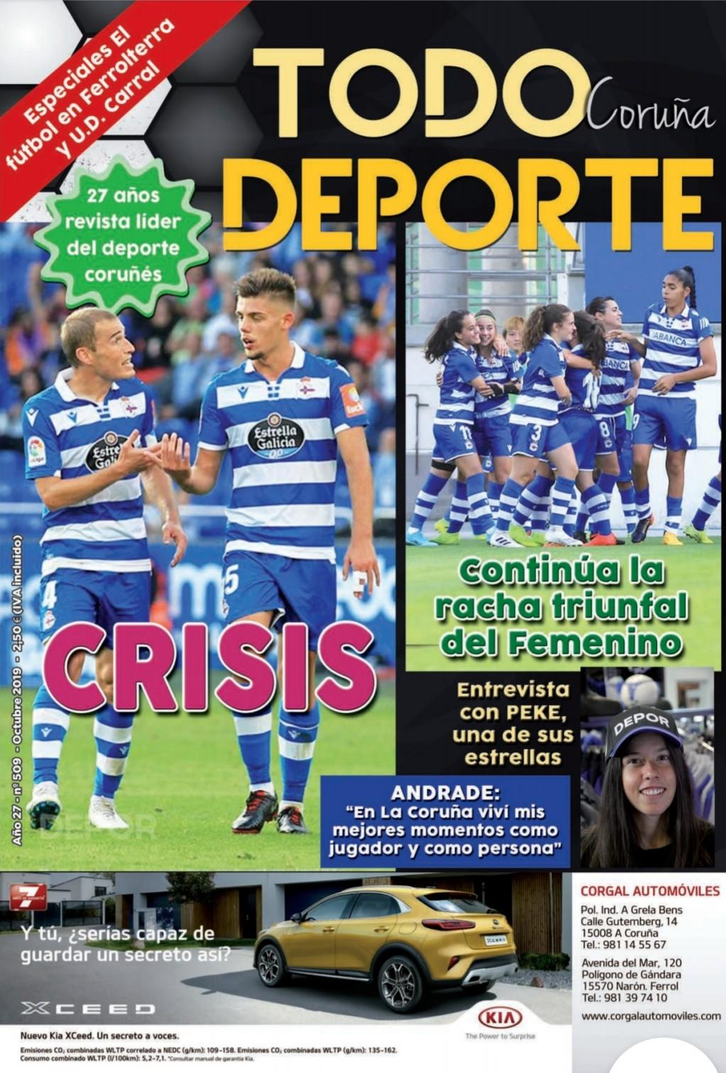 Revista Tododeporte Coruña 509