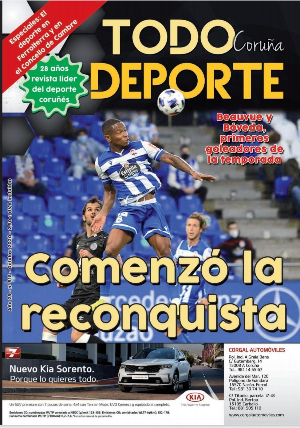 Revista Todo Deporte Coruña nº 518 Compostela - Depor